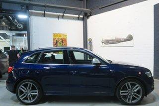2014 Audi SQ5 8R MY15 TDI Tiptronic Quattro Blue 8 Speed Sports Automatic Wagon.
