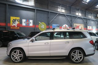 2013 Mercedes-Benz GL-Class X166 GL350 BlueTEC 7G-Tronic + Silver 7 Speed Sports Automatic Wagon