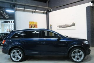 2014 Audi Q7 4L MY15 TDI Tiptronic Quattro Sport Blue 8 Speed Sports Automatic Wagon.