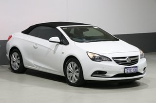 2015 Holden Cascada CJ White 6 Speed Automatic Convertible