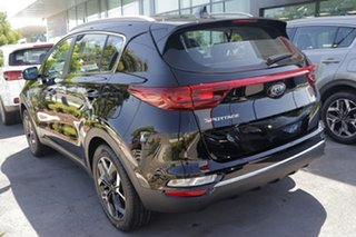 2019 Kia Sportage QL MY20 SX 2WD Cherry Black 6 Speed Sports Automatic Wagon.