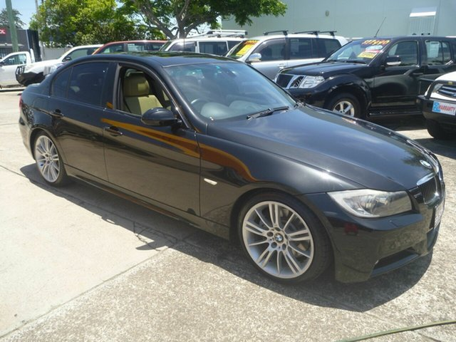 Used BMW 3 Series E90 330i Steptronic, 2006 BMW 3 Series E90 330i Steptronic Black 6 Speed Sports Automatic Sedan