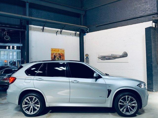 Used BMW X5 F15 xDrive30d, 2017 BMW X5 F15 xDrive30d Silver 8 Speed Sports Automatic Wagon
