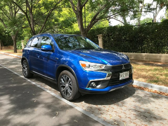 Used Mitsubishi ASX XB MY15.5 LS 2WD, 2016 Mitsubishi ASX XB MY15.5 LS 2WD Blue 6 Speed Constant Variable Wagon
