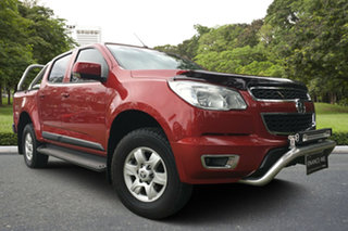 2015 Holden Colorado RG MY16 LS-X Crew Cab Red 6 Speed Sports Automatic Utility.