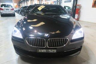 2013 BMW 6 Series F12 MY1112 640i Steptronic Black 8 Speed Sports Automatic Convertible