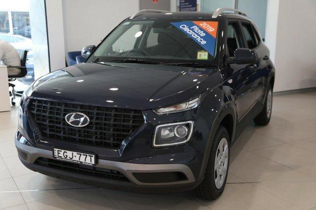 Demo Hyundai Venue QX MY20 Go, 2019 Hyundai Venue QX MY20 Go The Denim 6 Speed Manual Wagon
