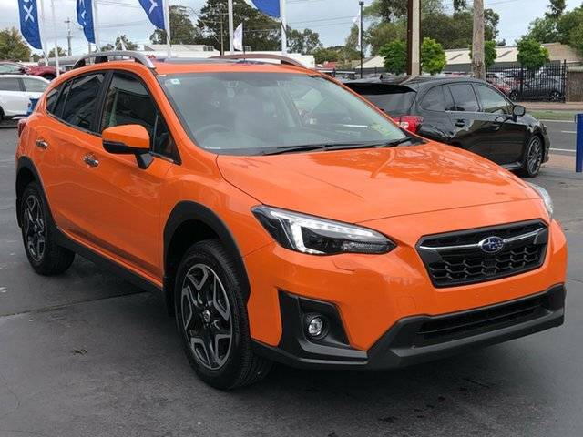 New Subaru XV G5X MY19 2.0i-S Lineartronic AWD, 2019 Subaru XV G5X MY19 2.0i-S Lineartronic AWD Sunshine Orange 7 Speed Constant Variable Wagon