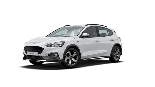 New Ford Focus SA 2020.25MY Active Townsville, 2019 Ford Focus SA 2020.25MY Active Frozen White 8 Speed Automatic Hatchback