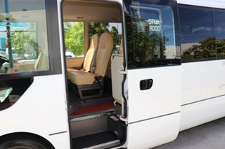2012 Mitsubishi Rosa BE64D Deluxe White Manual Midi Coach