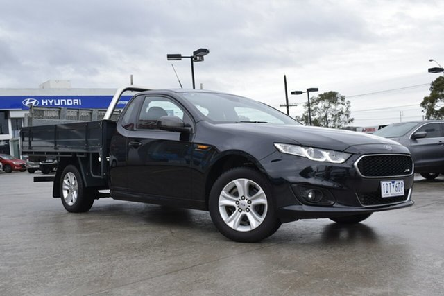 Used Ford Falcon FG X XR6 Ute Super Cab, 2014 Ford Falcon FG X XR6 Ute Super Cab Black/Grey 6 Speed Sports Automatic Utility