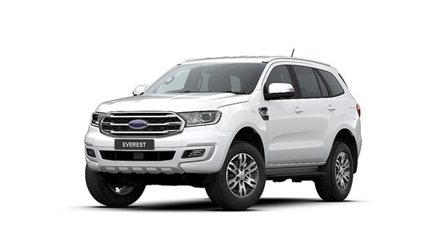 New Ford Everest UA II MY20.25 Trend (4WD 7 Seat), 2020 Ford Everest UA II MY20.25 Trend (4WD 7 Seat) Arctic White 6 Speed Automatic Wagon