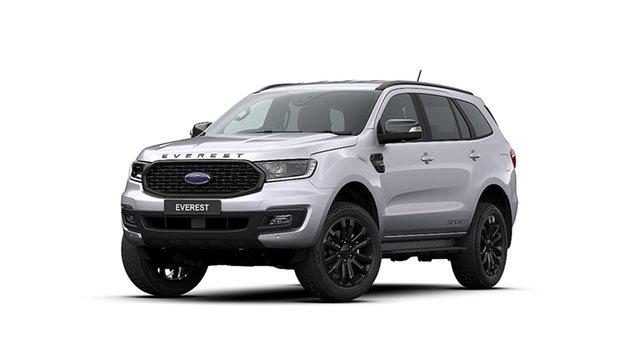 New Ford Everest UA II 2020.25MY Sport 4WD, 2020 Ford Everest UA II 2020.25MY Sport 4WD Aluminium 10 Speed Sports Automatic Wagon