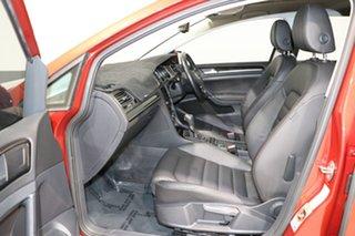 2013 Volkswagen Golf AU 103 TSI Highline Burgundy 7 Speed Auto Direct Shift Hatchback