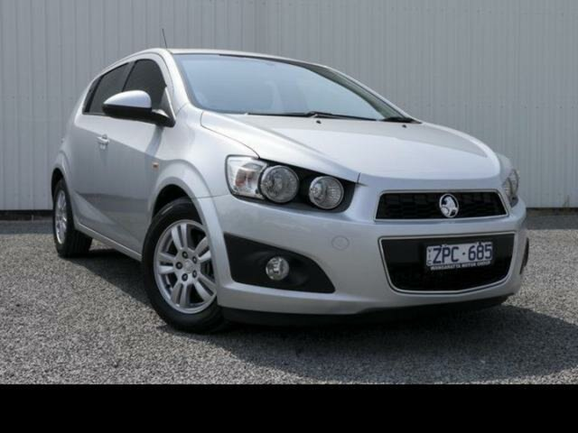 Used Holden Barina TM MY14 CD, 2013 Holden Barina TM MY14 CD Silver 6 Speed Automatic Hatchback