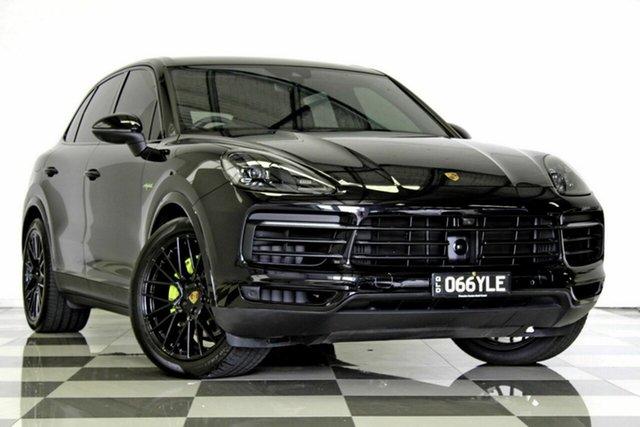 Used Porsche Cayenne 92A MY19 E-Hybrid, 2018 Porsche Cayenne 92A MY19 E-Hybrid Black 8 Speed Automatic Tiptronic Wagon
