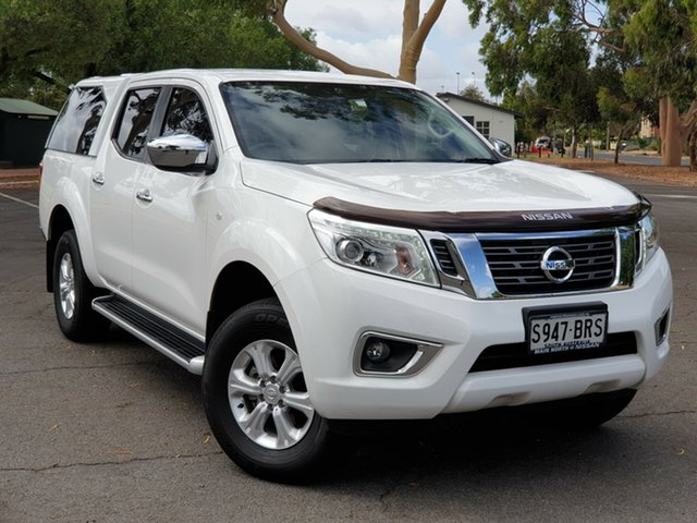 Used Nissan Navara D23 S2 ST, 2017 Nissan Navara D23 S2 ST Polar White 7 Speed Sports Automatic Utility