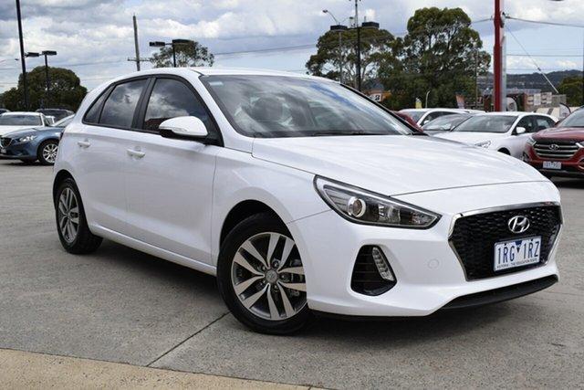 Used Hyundai i30 PD MY18 Active, 2018 Hyundai i30 PD MY18 Active White 6 Speed Sports Automatic Hatchback