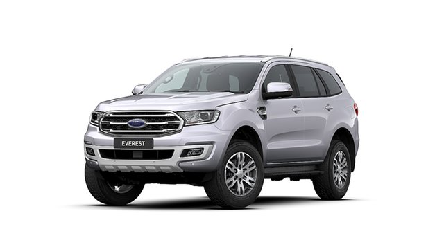 New Ford Everest UA II 2020.25MY Trend 4WD, 2020 Ford Everest UA II 2020.25MY Trend 4WD Aluminium 6 Speed Sports Automatic Wagon