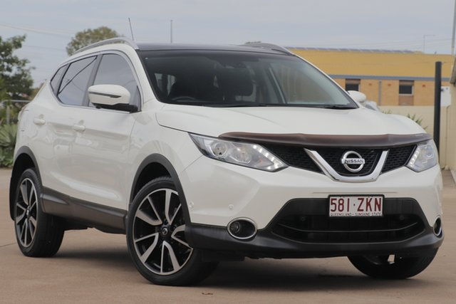 Used Nissan Qashqai J11 TI, 2015 Nissan Qashqai J11 TI White 6 Speed Manual Wagon