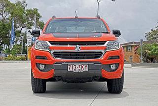 2018 Holden Colorado RG MY18 Z71 Pickup Crew Cab Orange 6 Speed Sports Automatic Utility.