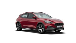 2020 Ford Focus SA 2020.25MY Active Ruby Red 8 Speed Automatic Hatchback