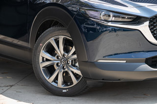 2020 Mazda CX-30 DM4WLA G25 SKYACTIV-Drive i-ACTIV AWD Astina Deep Crystal Blue 6 Speed.