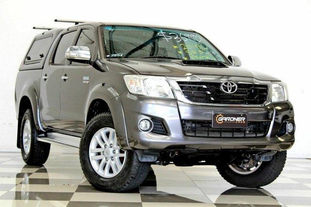 Used Toyota Hilux KUN26R MY14 SR5 (4x4), 2015 Toyota Hilux KUN26R MY14 SR5 (4x4) Grey 5 Speed Manual Dual Cab Pick-up