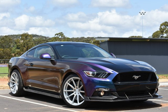 Used Ford Mustang FM 2017MY GT Fastback SelectShift, 2017 Ford Mustang FM 2017MY GT Fastback SelectShift Black 6 Speed Sports Automatic Fastback
