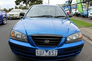 2004 Hyundai Elantra XD MY04 Blue 5 Speed Manual Hatchback.