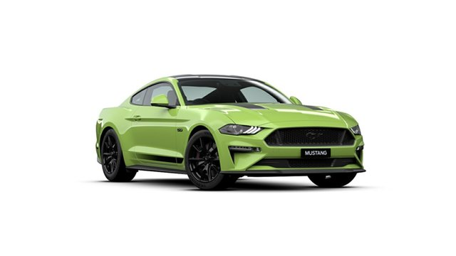 New Ford Mustang FN 2019MY GT Fastback SelectShift RWD, 2019 Ford Mustang FN 2019MY GT Fastback SelectShift RWD Grabber Lime 10 Speed Sports Automatic