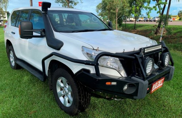 Used Toyota Landcruiser Prado GDJ150R GX, 2015 Toyota Landcruiser Prado GDJ150R GX White 6 Speed Sports Automatic Wagon