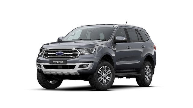 New Ford Everest UA II MY20.25 Trend (4WD 7 Seat), 2020 Ford Everest UA II MY20.25 Trend (4WD 7 Seat) Meteor Grey 6 Speed Automatic Wagon