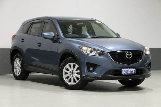Used Mazda CX-5 MY13 Upgrade Maxx Sport (4x4), 2014 Mazda CX-5 MY13 Upgrade Maxx Sport (4x4) Blue 6 Speed Automatic Wagon