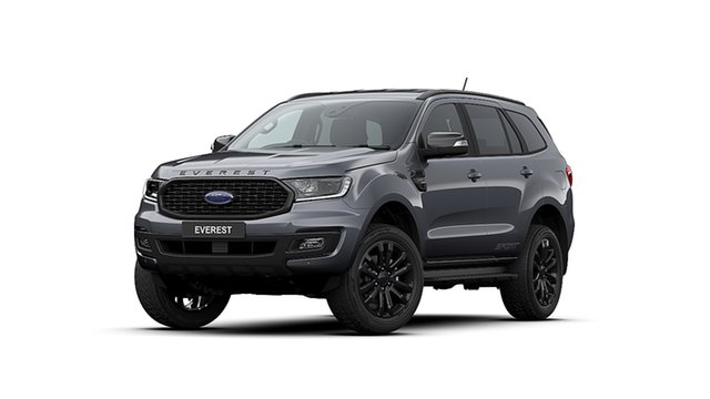 New Ford Everest UA II 2020.25MY Sport 4WD, 2020 Ford Everest UA II 2020.25MY Sport 4WD Meteor Grey 10 Speed Sports Automatic Wagon