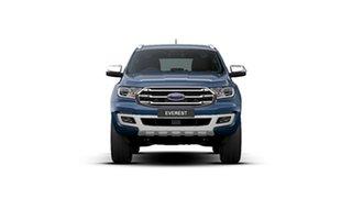 2020 Ford Everest UA II 2020.75MY Titanium Deep Crystal Blue 10 Speed Sports Automatic SUV.