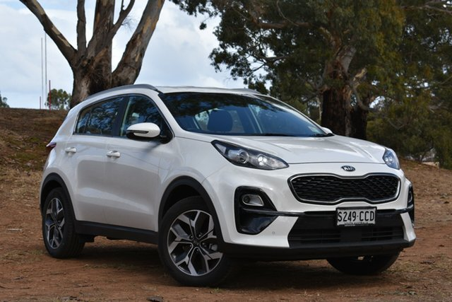 Demo Kia Sportage QL MY19 Si 2WD Premium, 2019 Kia Sportage QL MY19 Si 2WD Premium Clear White 6 Speed Sports Automatic Wagon