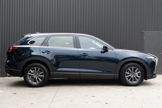 2019 Mazda CX-9 TC Touring SKYACTIV-Drive Deep Crystal Blue 6 Speed Sports Automatic Wagon.