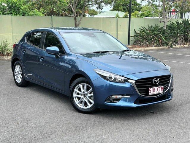 Used Mazda 3 BN5478 Touring SKYACTIV-Drive, 2017 Mazda 3 BN5478 Touring SKYACTIV-Drive Blue 6 Speed Sports Automatic Hatchback