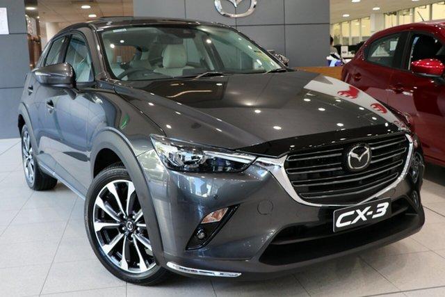 New Mazda CX-3 DK2W7A Akari SKYACTIV-Drive FWD, 2019 Mazda CX-3 DK2W7A Akari SKYACTIV-Drive FWD Machine Grey 6 Speed Sports Automatic Wagon