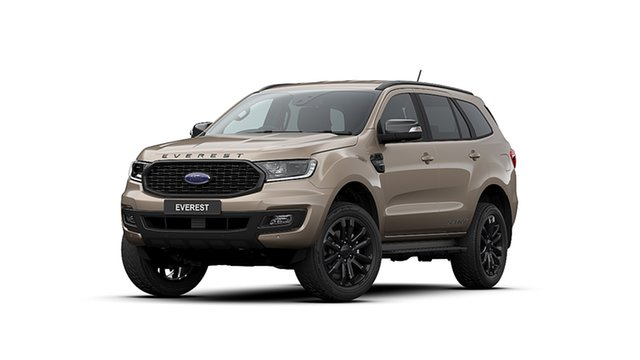 New Ford Everest UA II 2020.25MY Sport 4WD, 2020 Ford Everest UA II 2020.25MY Sport 4WD Silver 10 Speed Sports Automatic Wagon