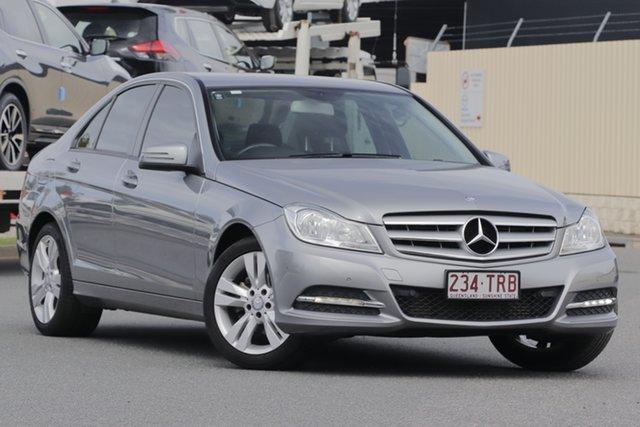 Used Mercedes-Benz C-Class W204 MY13 C200 CDI 7G-Tronic +, 2013 Mercedes-Benz C-Class W204 MY13 C200 CDI 7G-Tronic + Silver 7 Speed Sports Automatic Sedan