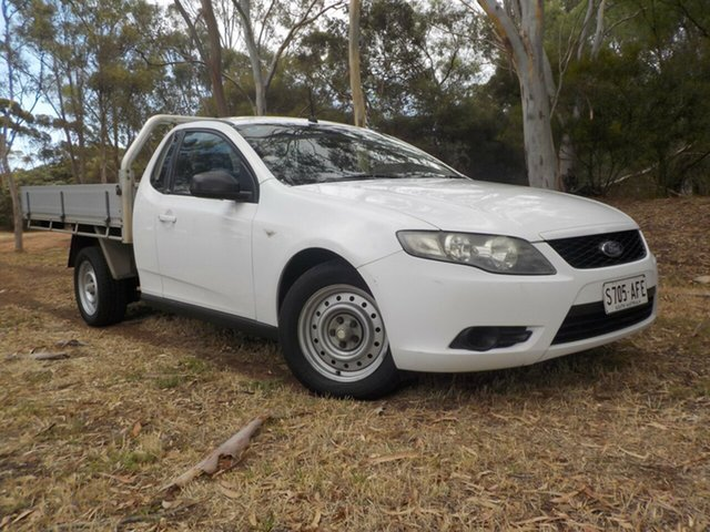 Used Ford Falcon FG Super Cab, 2009 Ford Falcon FG Super Cab 5 Speed Automatic Cab Chassis