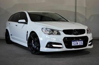 2014 Holden Commodore VF MY14 SS V Sportwagon Redline White 6 Speed Sports Automatic Wagon.