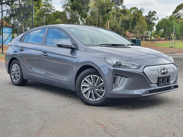 Demo Hyundai Ioniq AE.3 MY20 electric Elite, 2019 Hyundai Ioniq AE.3 MY20 electric Elite Fluidic Metal 1 Speed Reduction Gear Fastback