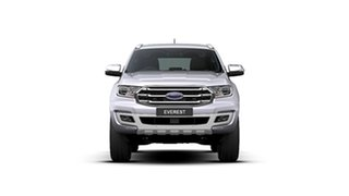 2020 Ford Everest UA II 2020.25MY Titanium Alabaster Silver 10 Speed Sports Automatic SUV.