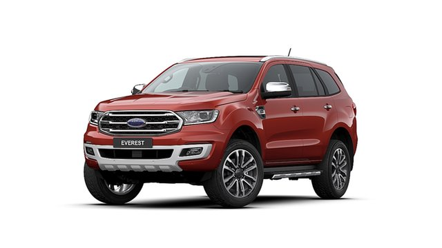 New Ford Everest UA II 2020.75MY Titanium Ebbw Vale, 2020 Ford Everest UA II 2020.75MY Titanium Sunset 10 Speed Sports Automatic SUV