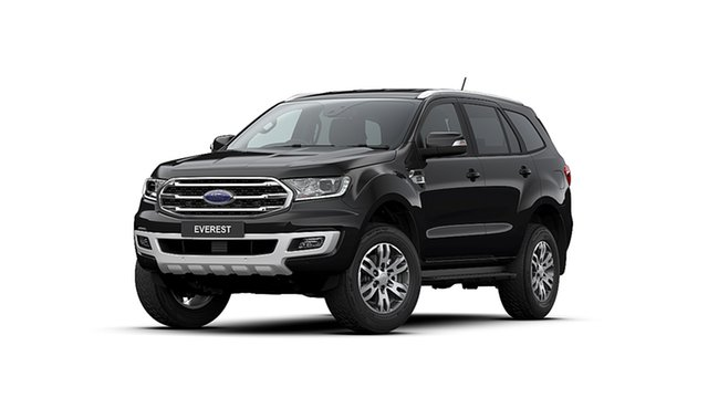 New Ford Everest UA II MY20.25 Trend (4WD 7 Seat), 2020 Ford Everest UA II MY20.25 Trend (4WD 7 Seat) Shadow Black 6 Speed Automatic Wagon