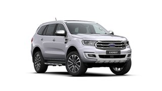 2020 Ford Everest UA II 2020.25MY Titanium Alabaster Silver 10 Speed Sports Automatic SUV