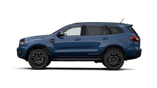 2020 Ford Everest UA II MY20.25 Sport (4WD 7 Seat) Deep Crystal Blue 10 Speed Auto Seq Sportshift.